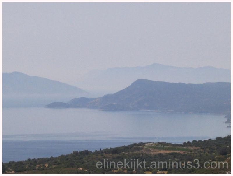 shoreline at Samos, Greece