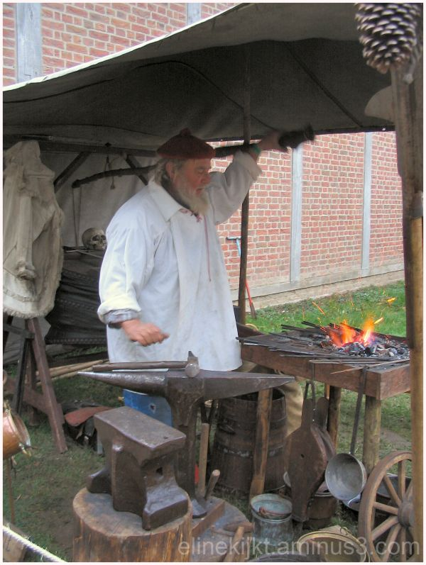 smith medieval at midwinter fair netherlands