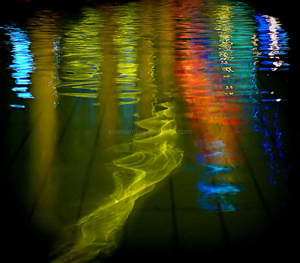 just water reflection...........