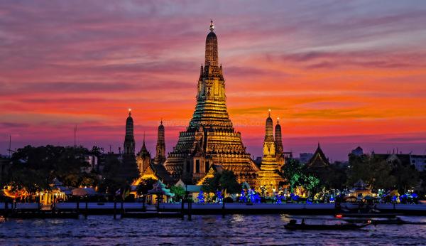 Wat Arun Bangkok sunset