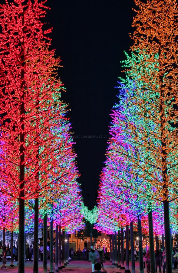 i-city shah alam malaysia LED forest
