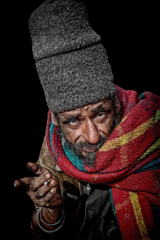 transient street portrait natural light Indian