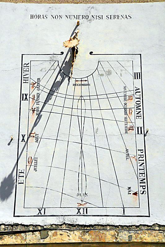 cadran solaire solar time