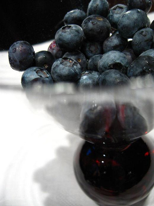 food blueberries art