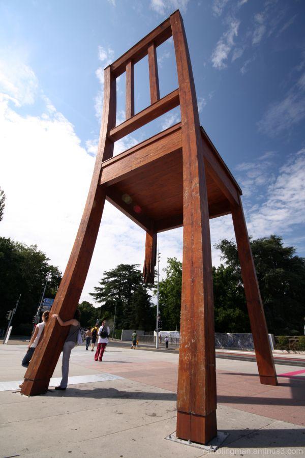 The UN Chair in Geneva