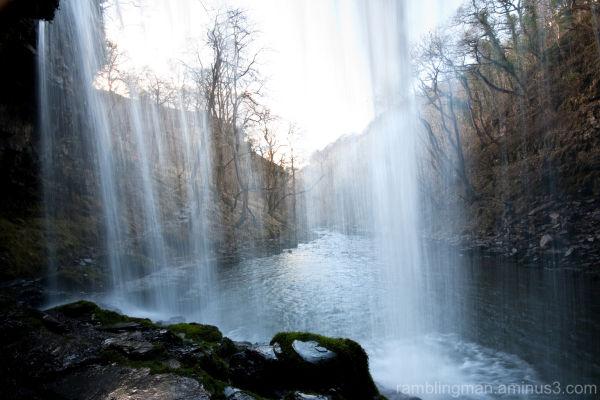 Ystradfellte Waterfalls Walk Wales