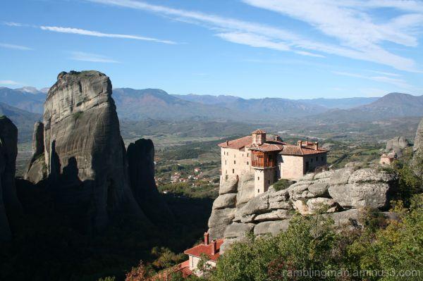Meteora rock monastries, Greece
