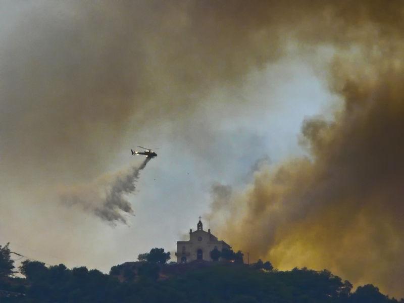 Incendi a Sant Ramon