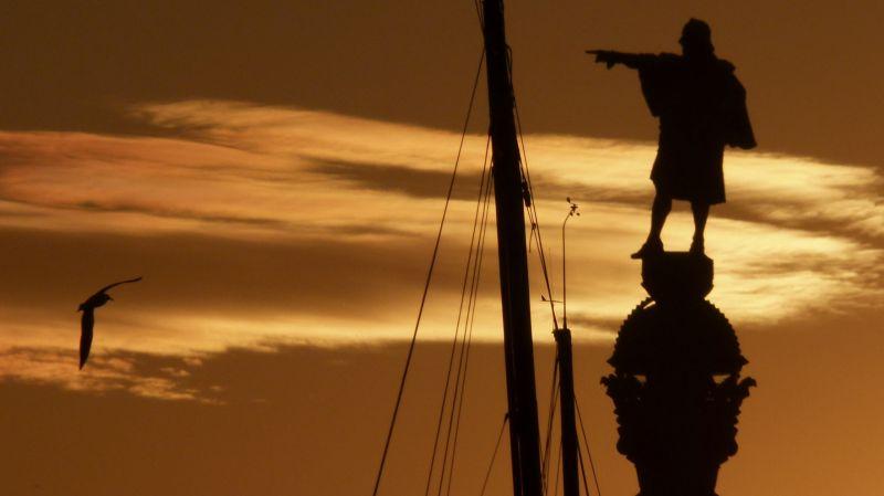 Posta de sol a Barcelona - 2