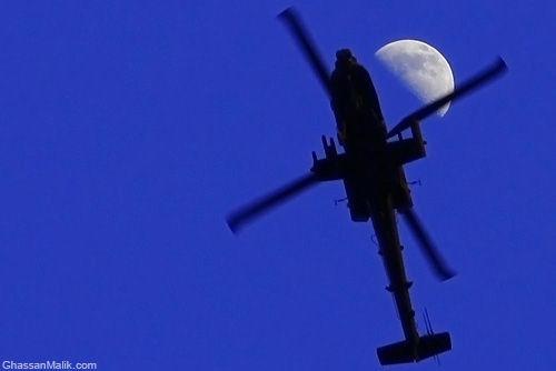 Iraq,Baghdad,GhassanMalik.com,Moon,Apache
