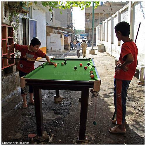 Iraq,Billiard,street,people