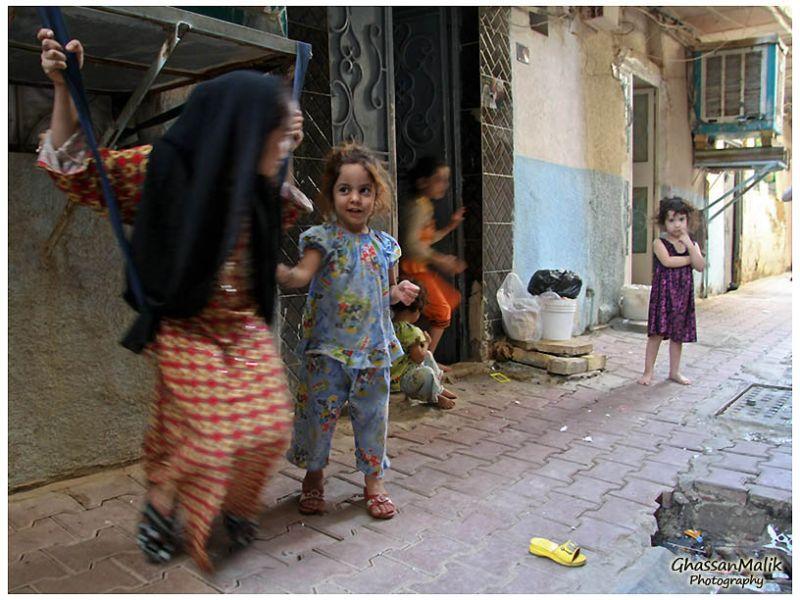 iraq,baghdad,people,games,kids