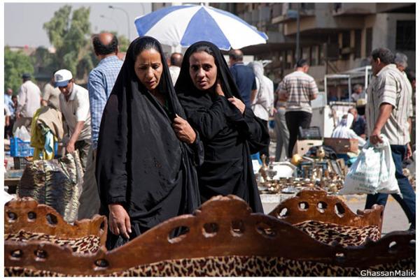 iraq,women,couch