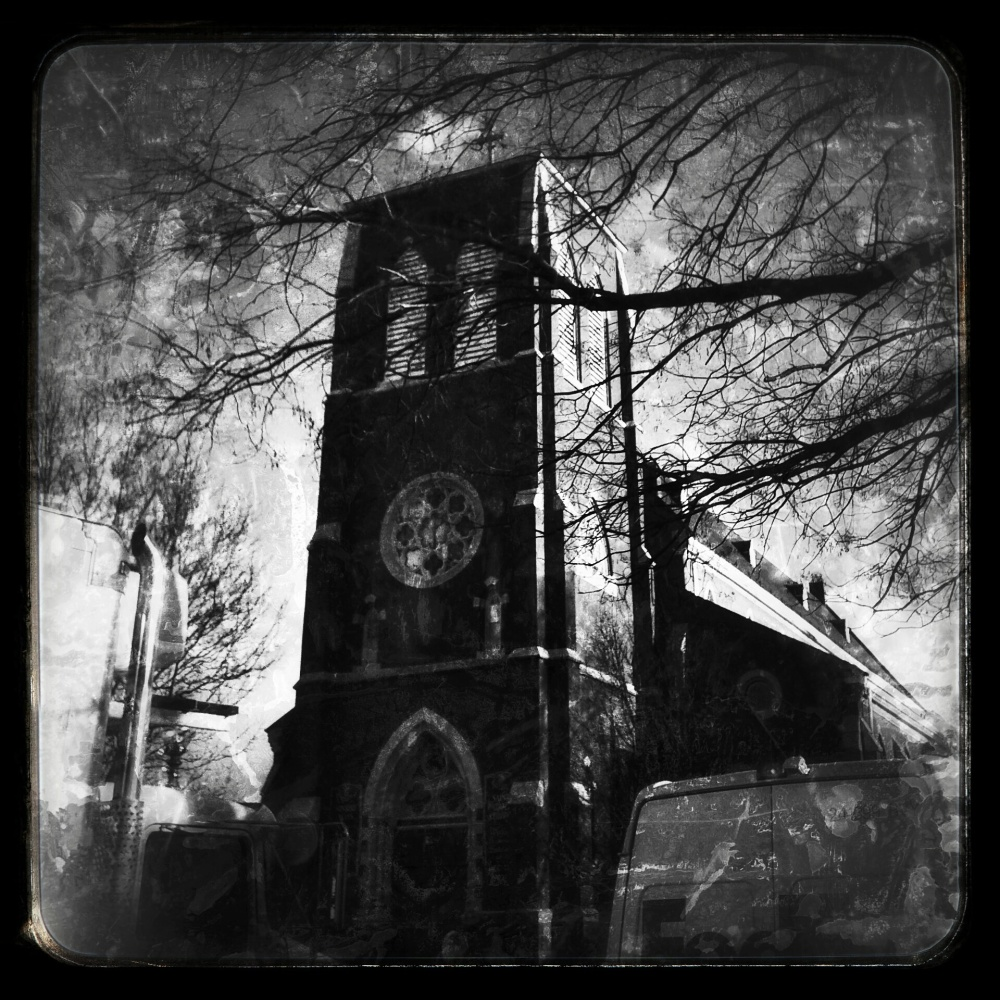 boston, dark, church, black, city, urban