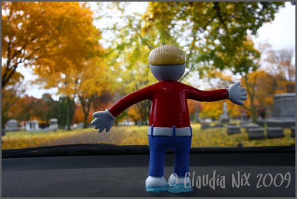 Mr. Bill Visits His Dearly Departed: Day 176