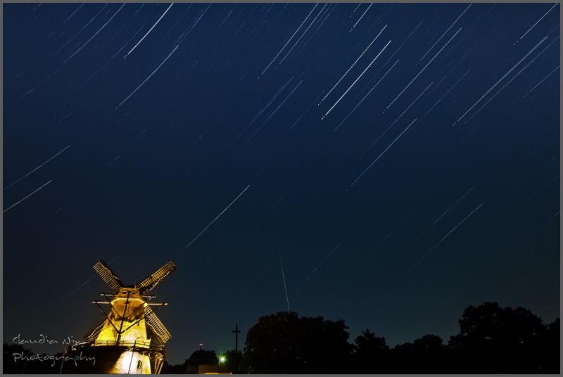 Star Trails at Fabyan Windmill
