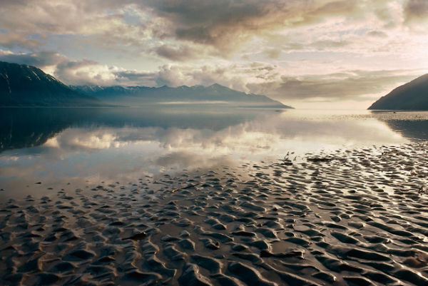 Turnagain Arm of The Coolk Inlet