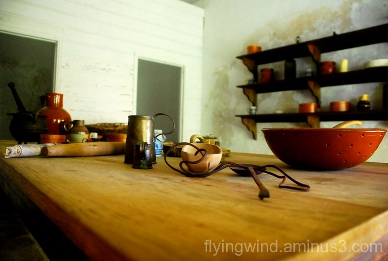 sundries in an old kitchen