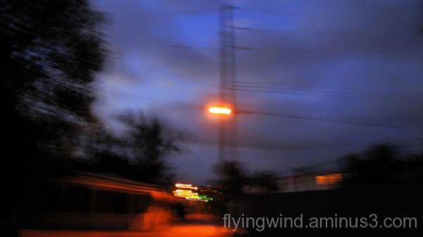 alley evening