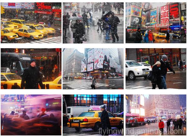 big snow in new york