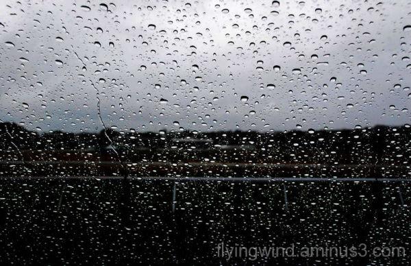 Raining in Hippodrom