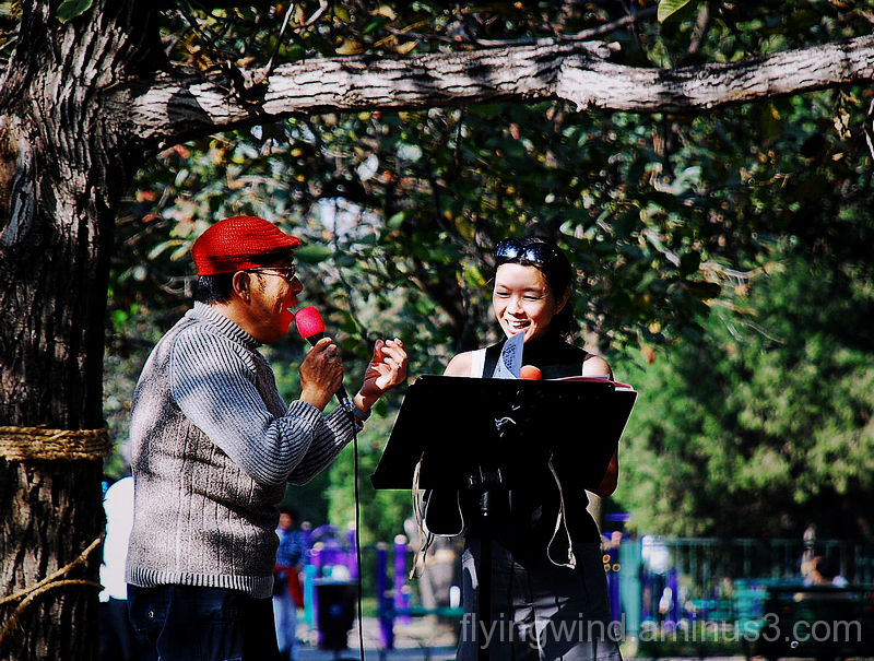 Invite you for singing together