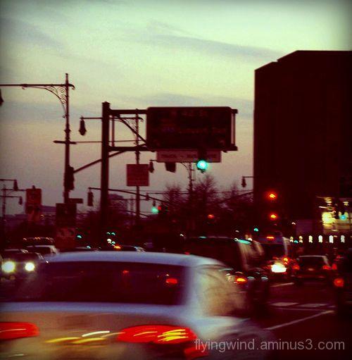 Dawn in New York