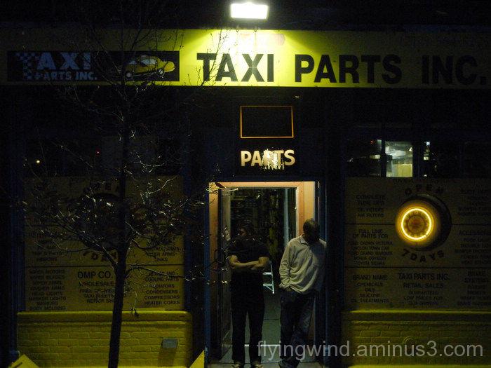 taxi night