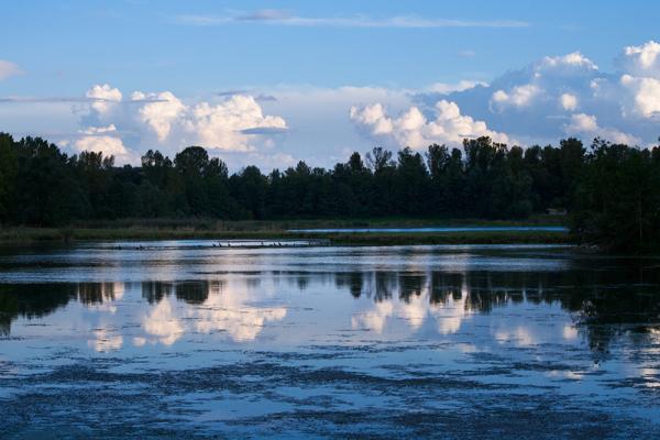 Ciel d'un soir sur la Loire
