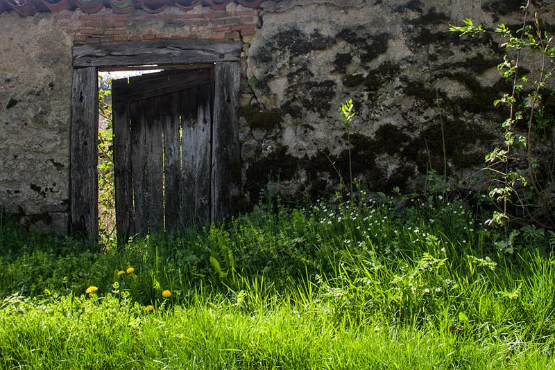 La porte ouverte