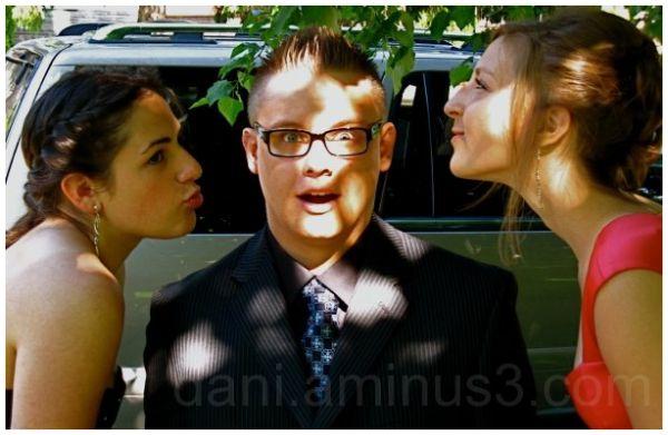 a prom kiss