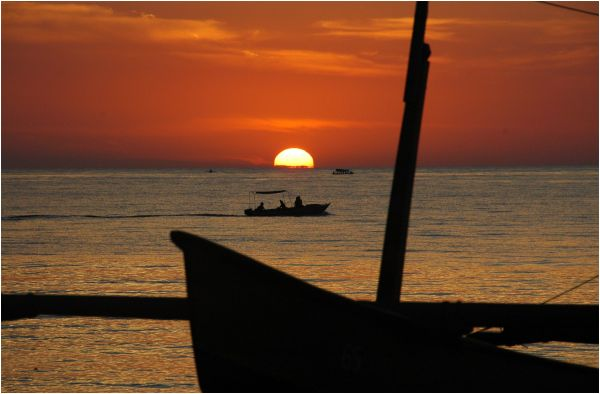 Sunset Lowina beach - Bali
