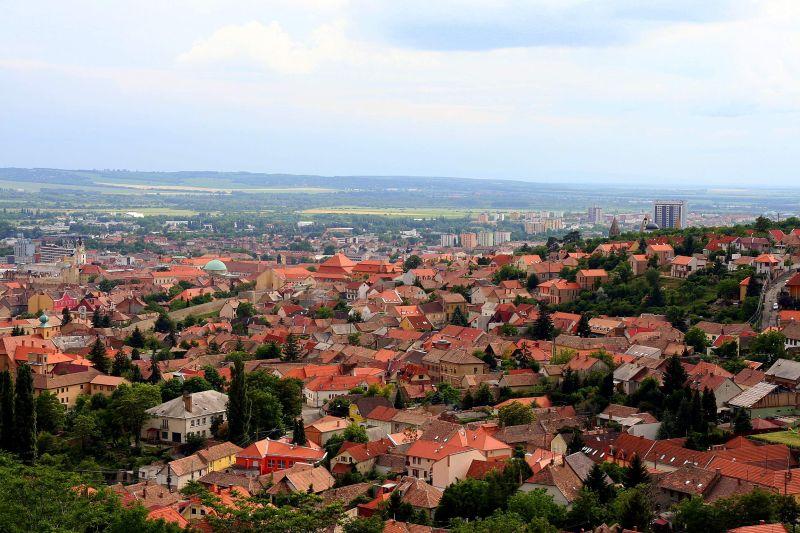 Pécs bird view