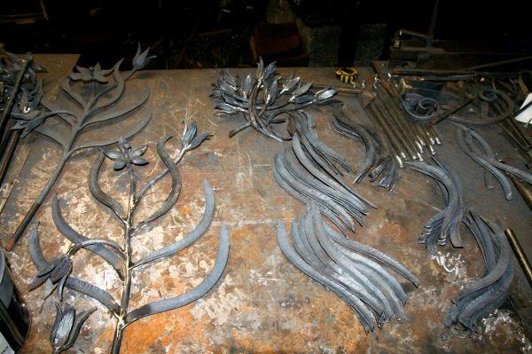 wrought-iron workshop
