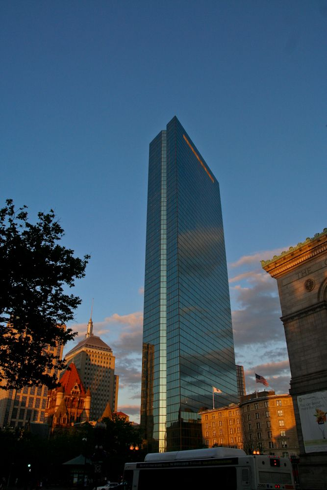 the last evening in Boston