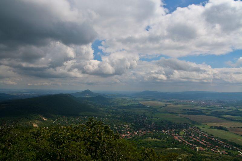 Pilis-tető landscape