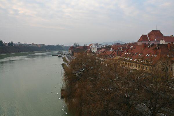 Maribor city view