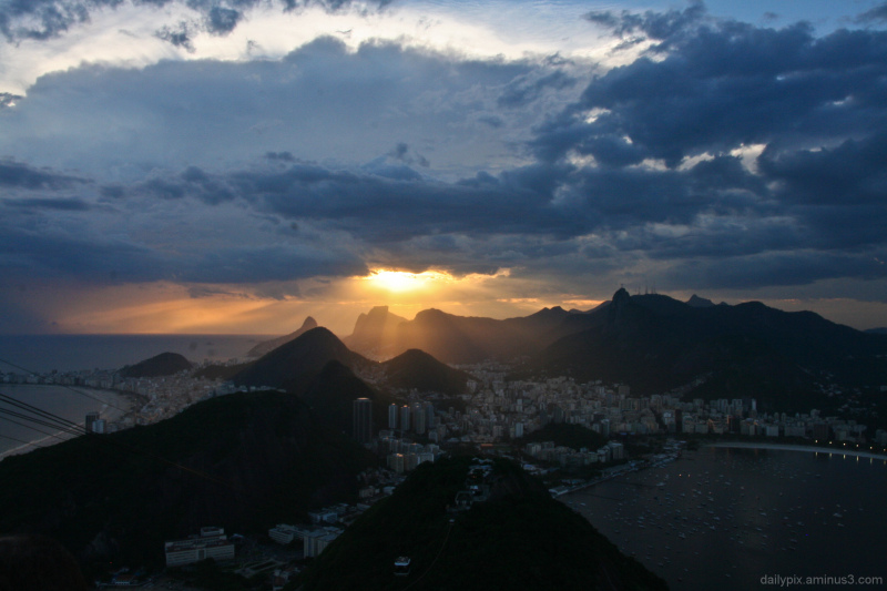 first evening in Rio