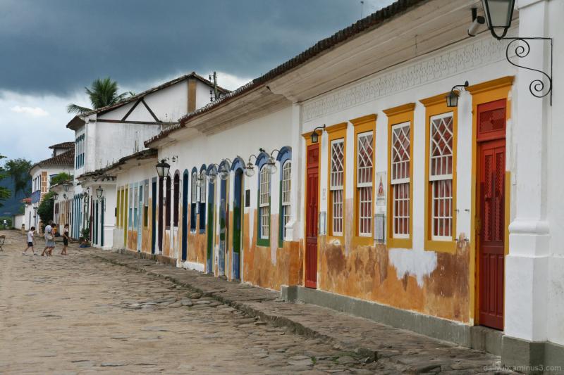 Paraty street view