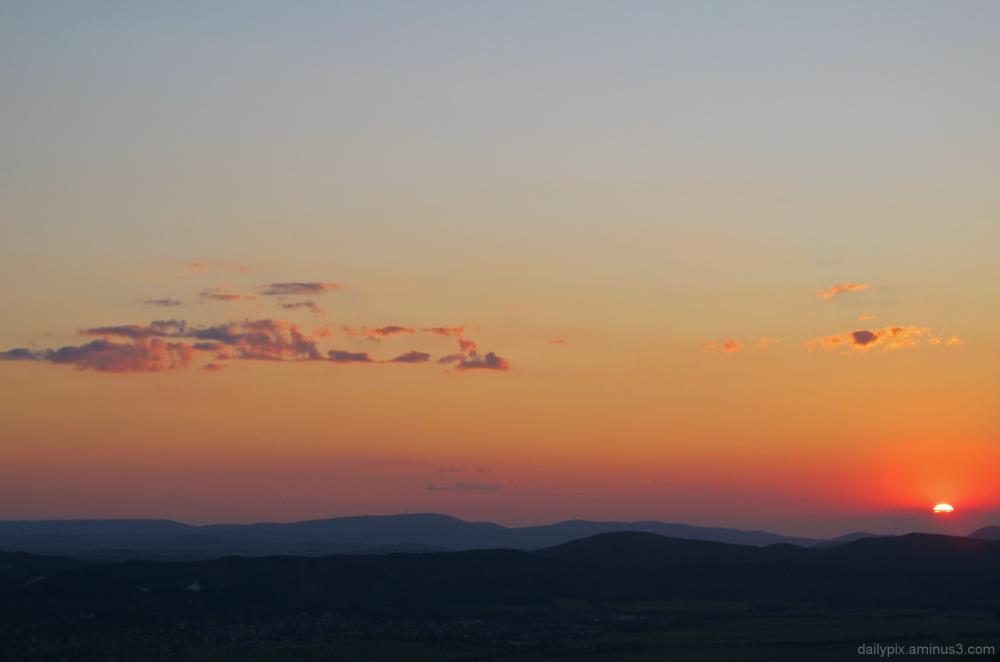 Nagy-Kevely sunset