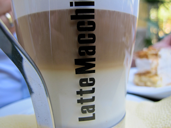 caffe with milk