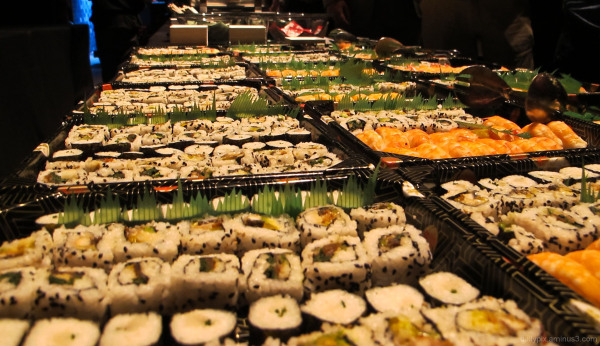 I love sushi (-: