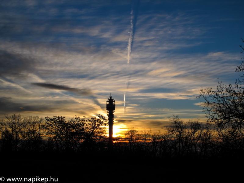 sunrise over HHH