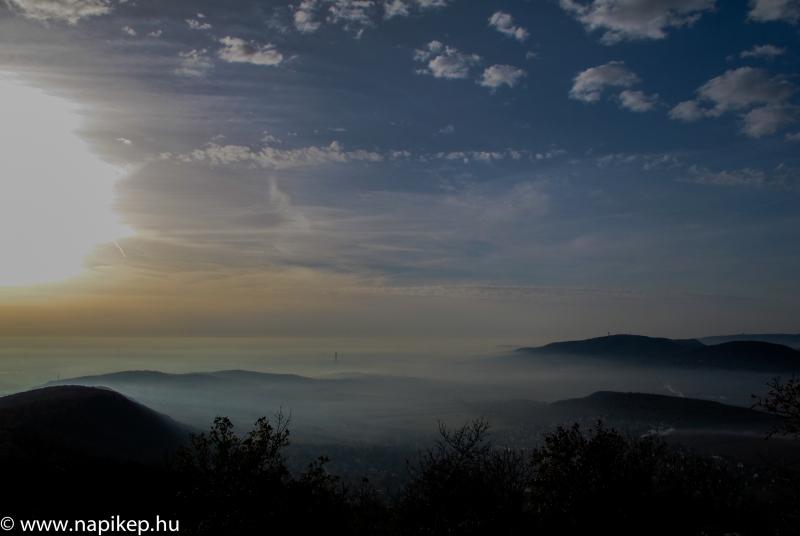 Budapest and fog