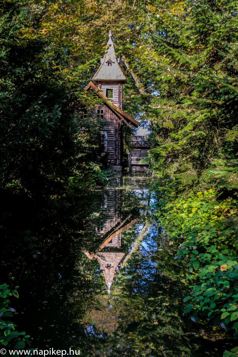 water mill reflections