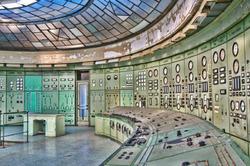 Kelenföld series - main control room II.