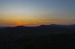 Csobanka sunset