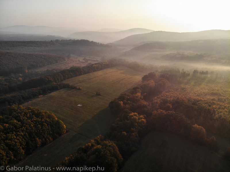 Sikaros aerial - early morning