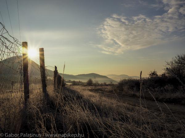 morning cross