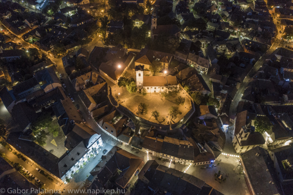 Szentendre old city evening
